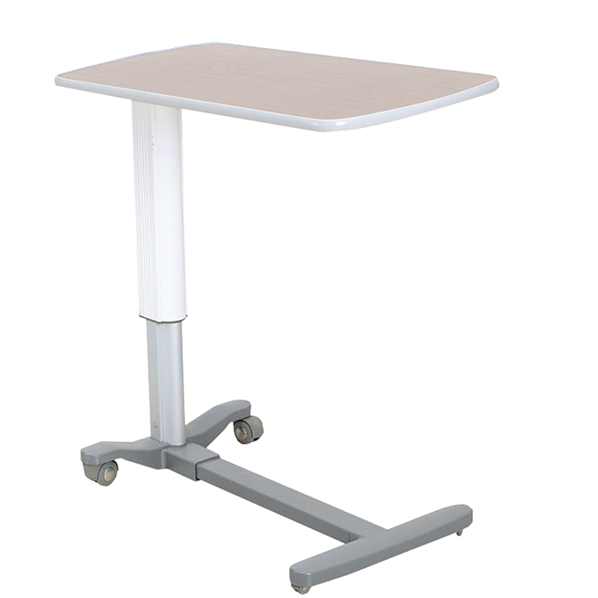 SKH046 Professional Service Stainless Steel Overbed Table