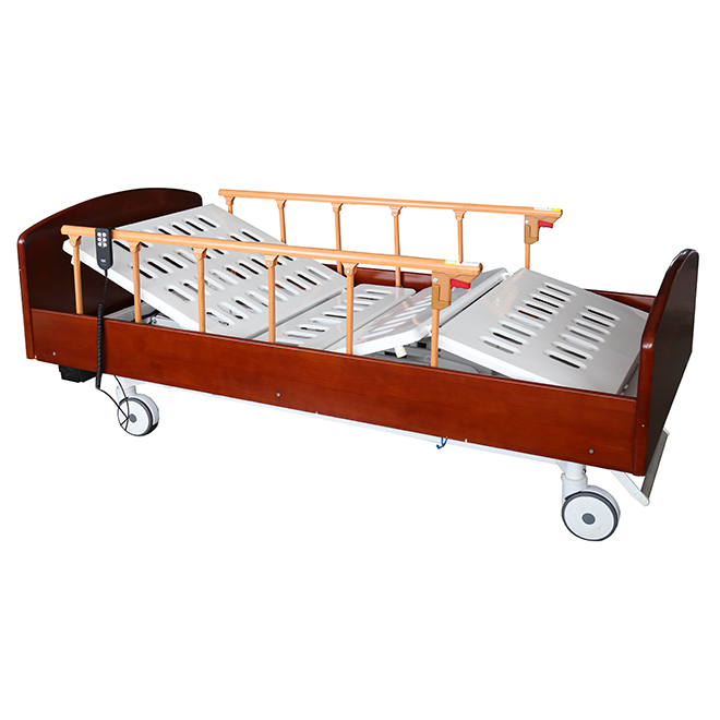 SK012-1 Wooden Electric Home Care Bed