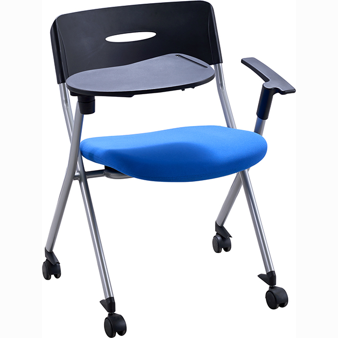 SKE053-2 Comfortable Cheap Office Training Chair With Writing Table
