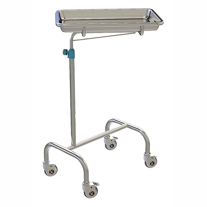 SKH038-2 Stainless Steel Mayo Trolley