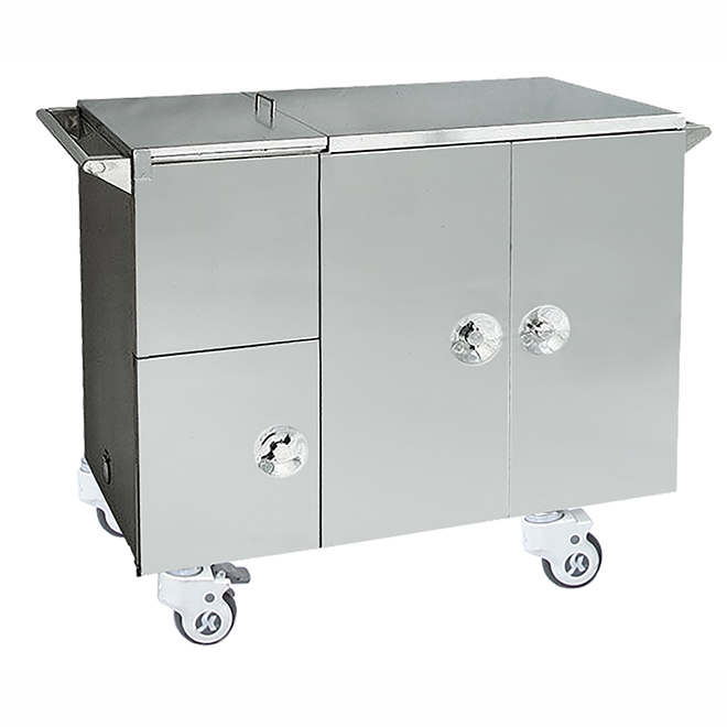 SKH012 Stainless Steel Insulated Food Cart