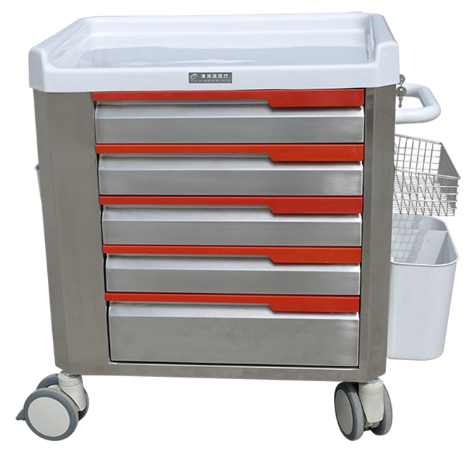 SKR-ET052 Hospital Therapy Medical Moving Trolley