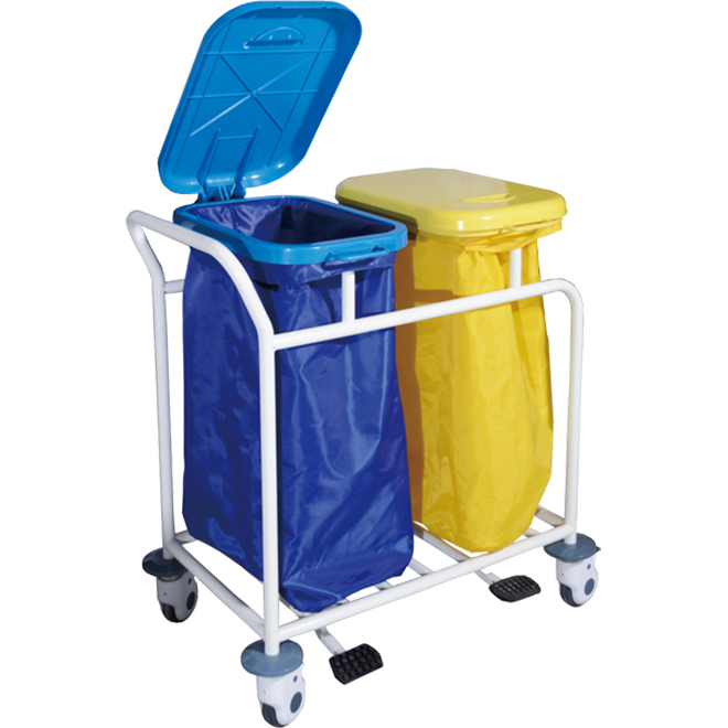 SKR-WC561 Durable Waste Collecting Trolley