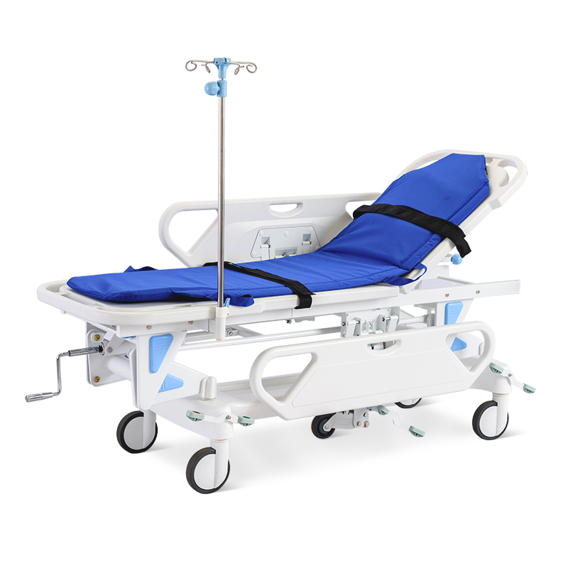SKB041-1 Hospital Medical Patient Transport Emergency Rescue Trolley