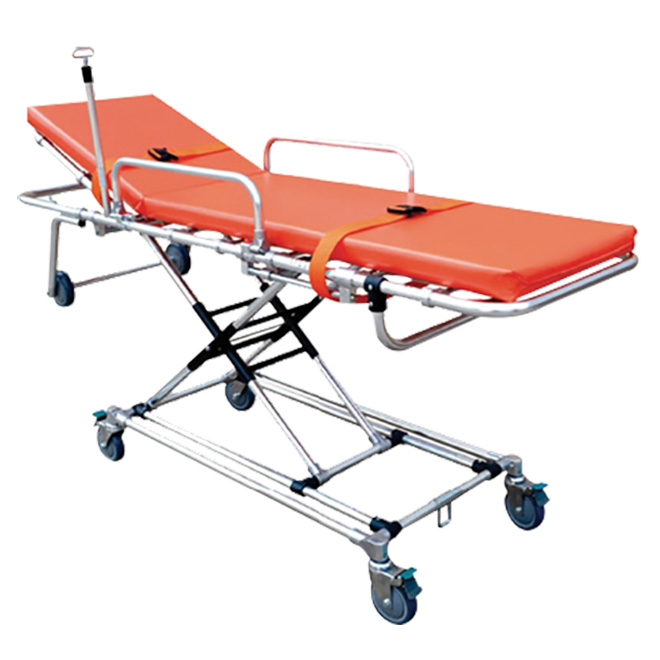 SKB039(G) Manufacturers For Medical Use Folding Ambulance Patient Stretcher Trolley