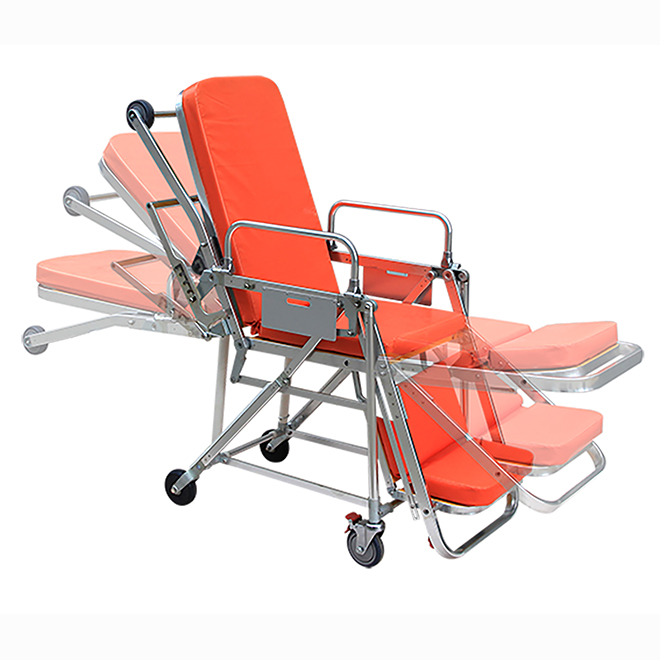 SKB039(E) Medical Device Emergency Patient Trolley