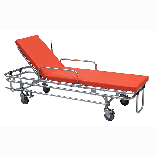 SKB039(A) China Manufacturer Ambulance Aluminum Alloy Stretcher Trolley