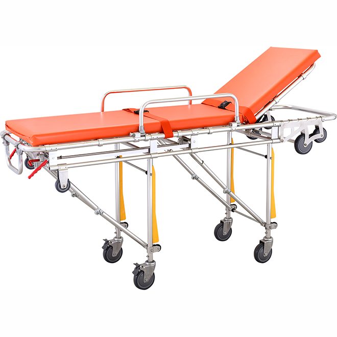 SKB039(C) Ambulance Stretcher Trolley