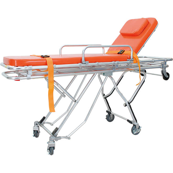 SKB039(F) Folding Ambulance Stretcher Trolley