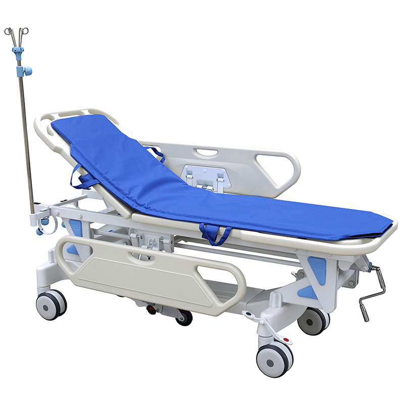 SKB041-1 Height Adjustable Patient Trolley