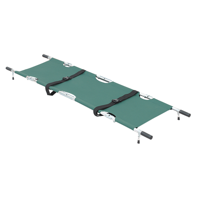 SKB1A01 Aluminum Alloy Folding Patient Transfer Stretcher