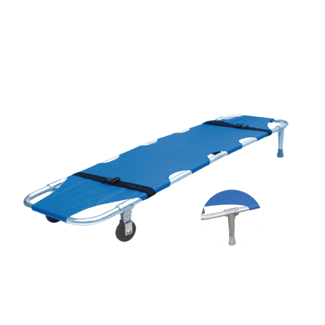 SKB1A04 Aluminum Folding Stretcher With Wheels